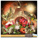 Scrap kit «Flowery Tales»