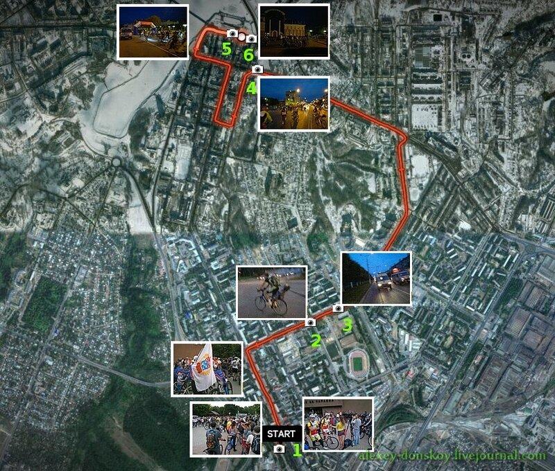 Велопробег 2012.08.29
