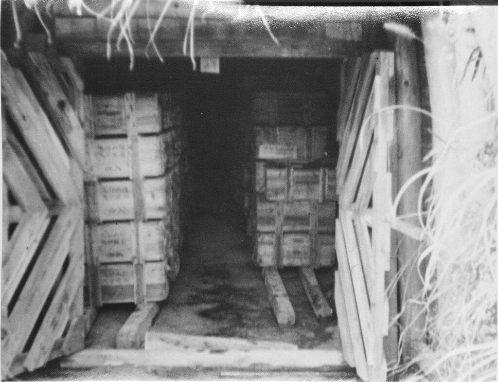 Ammunition tunnels, Jan 1946