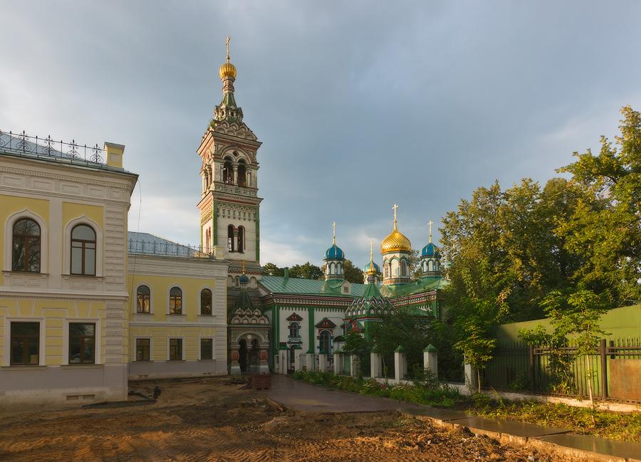 Никольская церковь на Рогожском кладбище