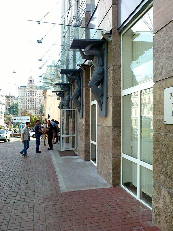 Вход в Музей истории Киева