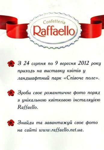 Приглашение в павильон Раффаэлло