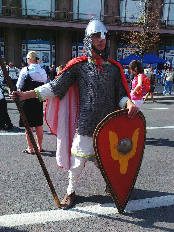 Рыцарь на Крещатике
