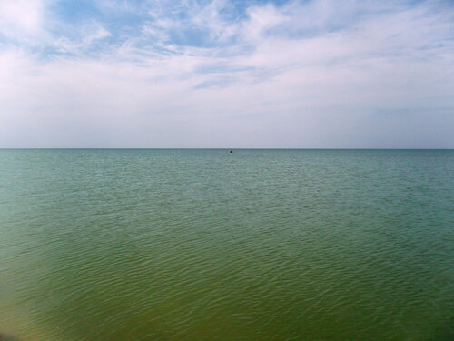 В августе, на Азовских береговых песках