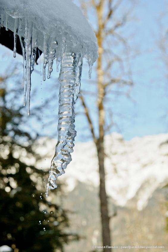 панько pavelpanko абхазия зима сосульки снег