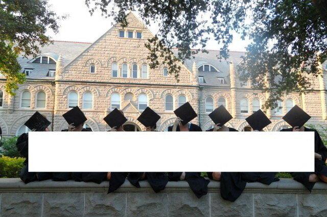 Фото на память об окончании университета 16+