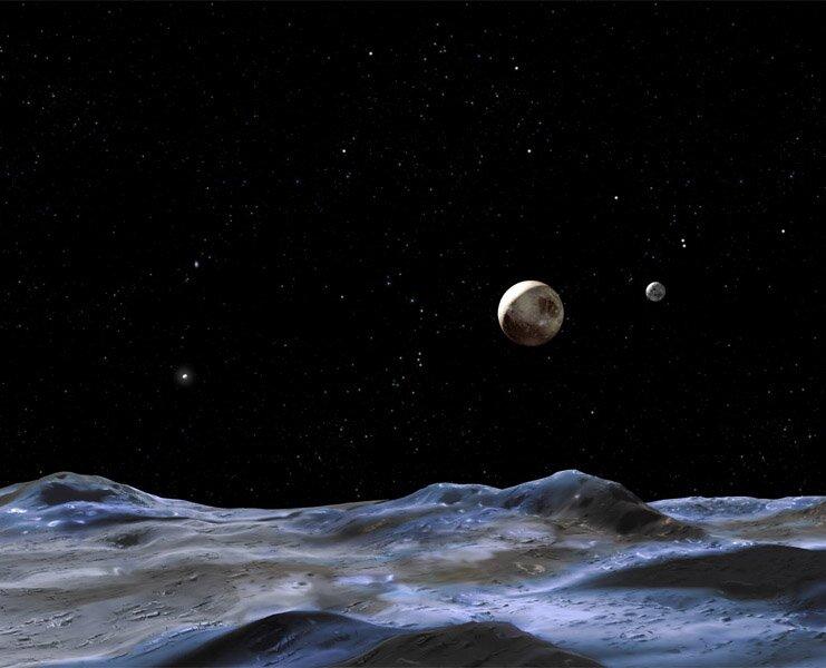 Плутон и его луны