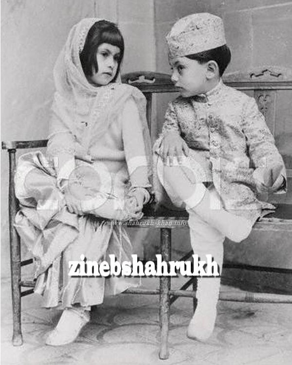 Shahrukh Khan & Shehnaz (his sister)
