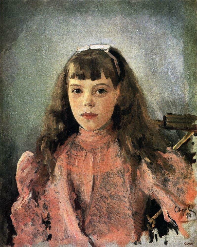 Портрет вел. княжны Ольги Александровны, 1893