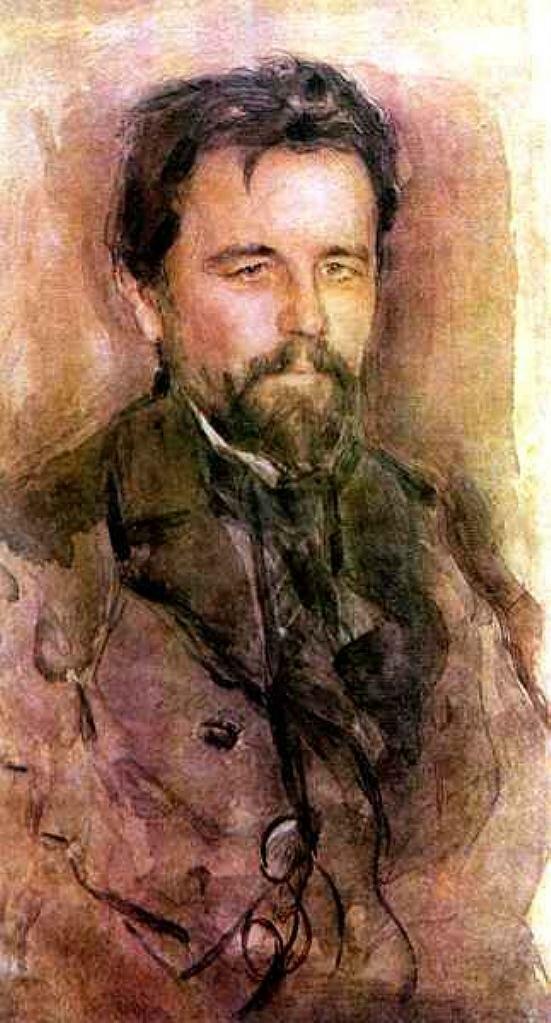 Чехов Антон Павлович, 1903 год, Серов Валентин