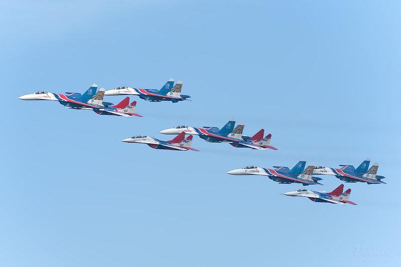 Сухой Су-27 / Микоян-Гуревич МиГ-29УБ DSC_3467