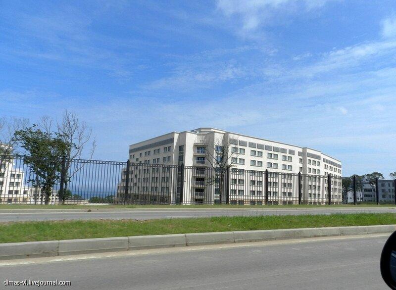 ДВФУ на острове Русском. 21-августа-2012г