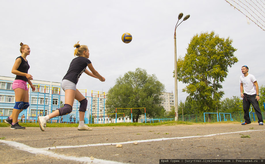 Возобновление дворового спорта