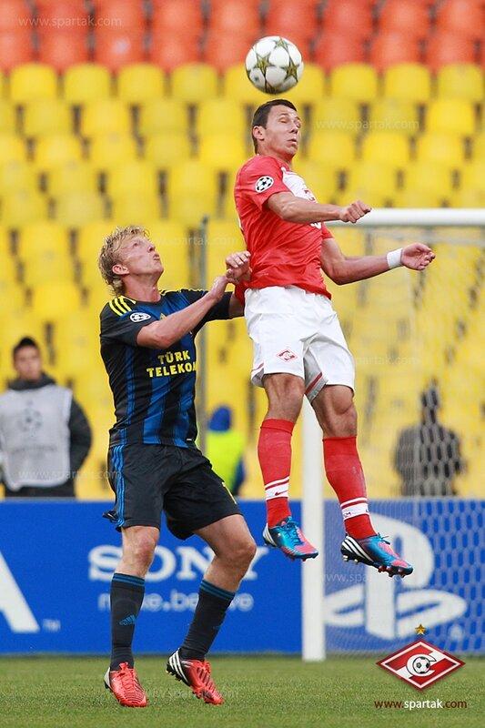 «Спартак» vs «Фенербахче» 2:1 Лига чемпионов 2012-2013 (Фото)