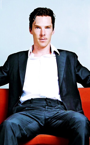 Benedict Cumberbatch en rendez-vous. PO. Camera Press.