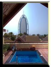ОАЭ. Дубаи. Jumeirah Beach Hotel - Beit Al   Bahar Villas