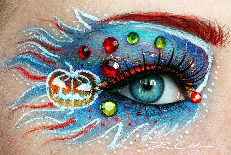 Волшебный макияж. Волшебные глаза от Pixie Cold / 42 фото. Новые работы.