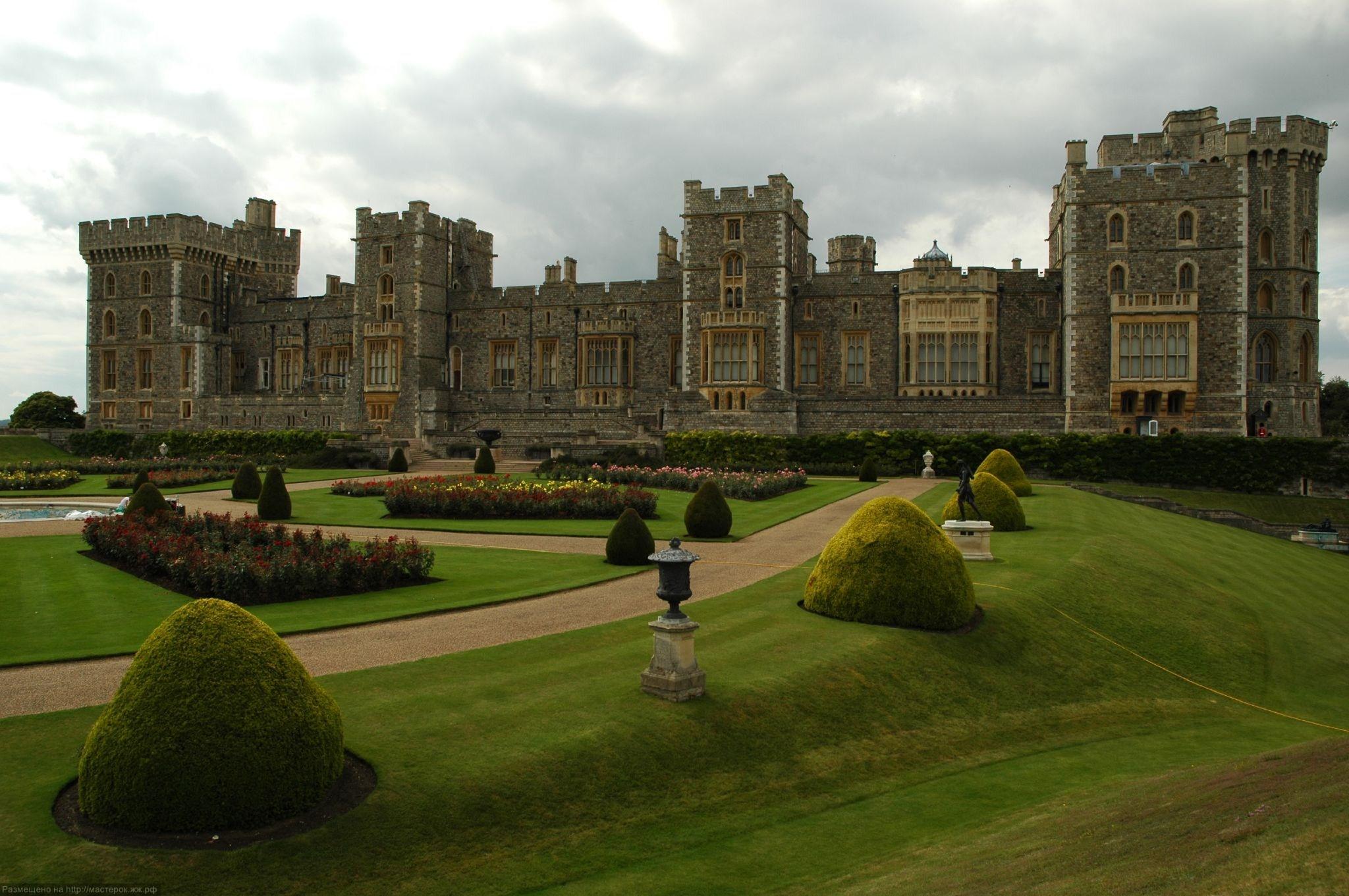 английские замки и дворцы