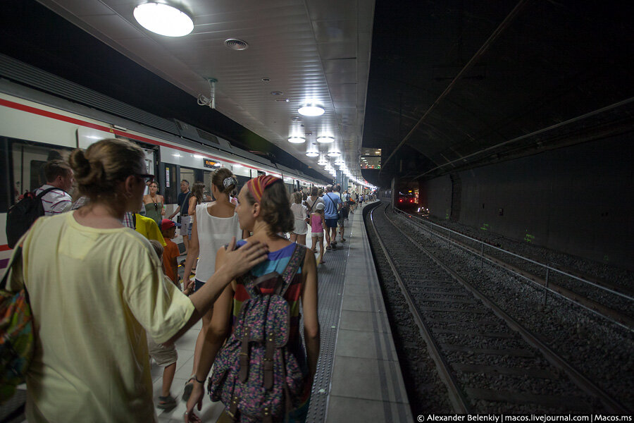 Поезд барселона аликанте купить билет