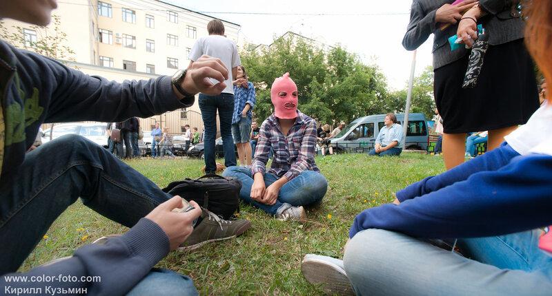 Новости. Митинг в Москве.