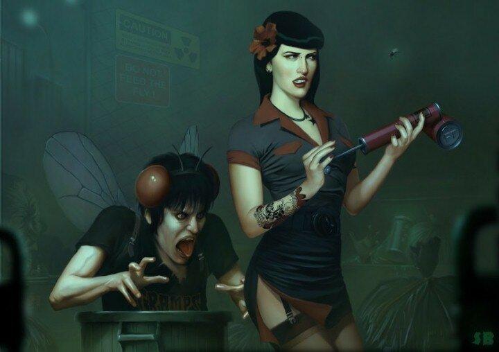 Веселые иллюстрации Serge Birault 13