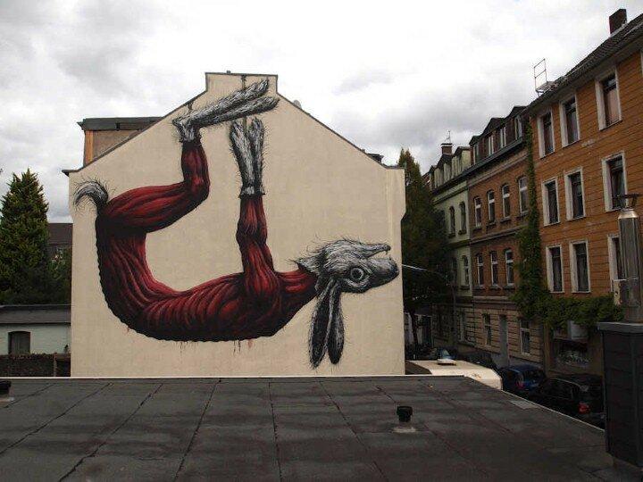 ROA. Уличный художник 8