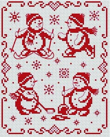 Схема для вышивки: И Снова Новый Год ФОТО #20.
