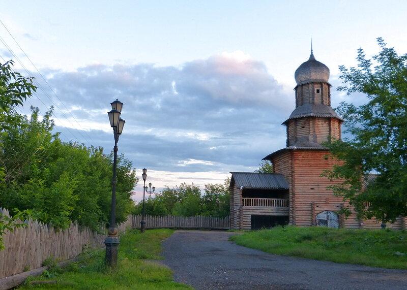 Здесь начинался Томск. Башня Томского острога