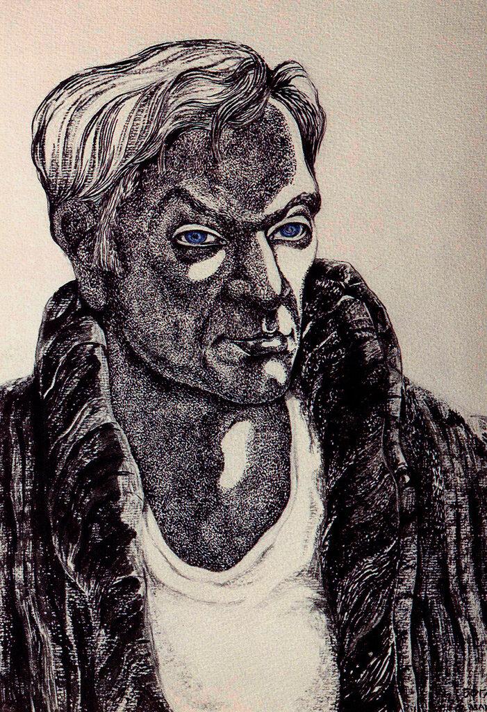 Петр Вельяминов. Рисунок Юрия Богатырева.