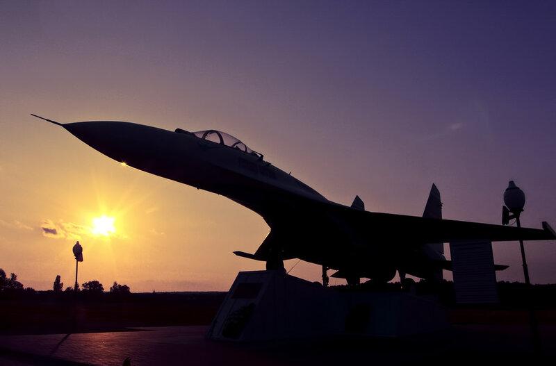 Су-27 в Борисовке