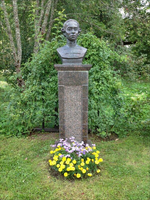Памятник Абраму Петровичу Ганнибалу - прадеду А.С.Пушкина