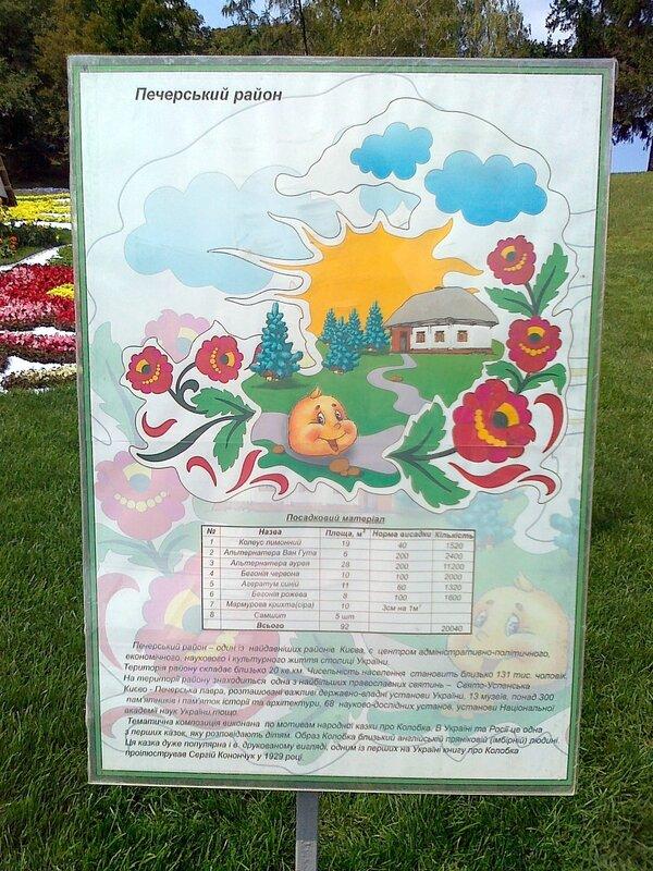 """Информация о цветочной композиции """"Колобок"""""""