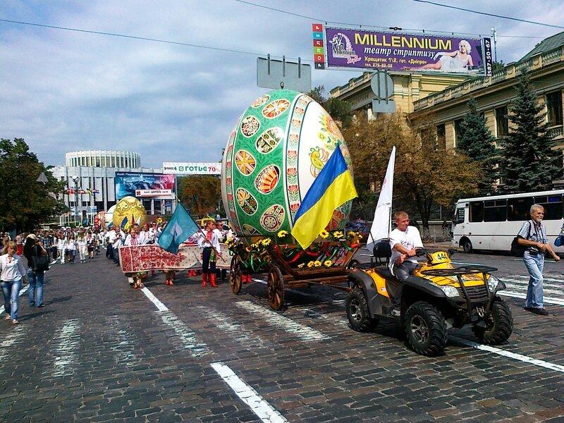 День Незалежности 2012 в Киеве