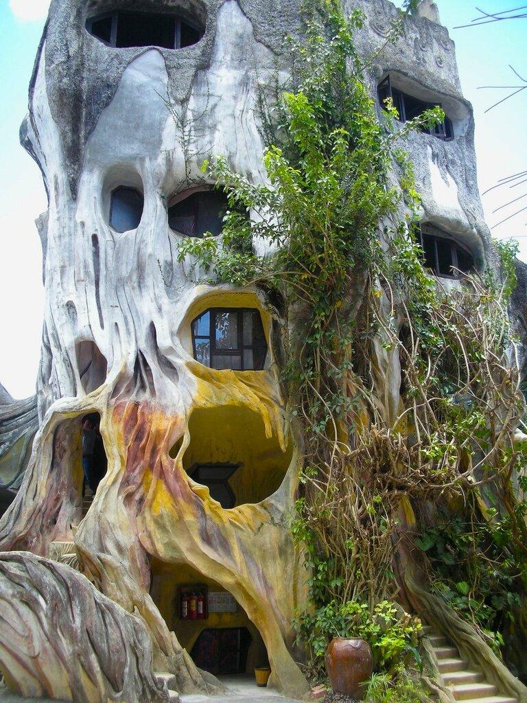 гостиница в курортном городе Далате(Da Lat)Вьетнам