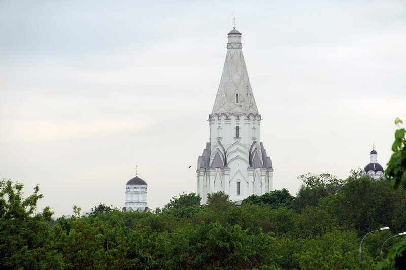 Шатровая церковь Вознесения (Коломенское) 1532 г