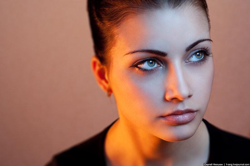 Портреты с использованием цветных гелей (2012-03-24)