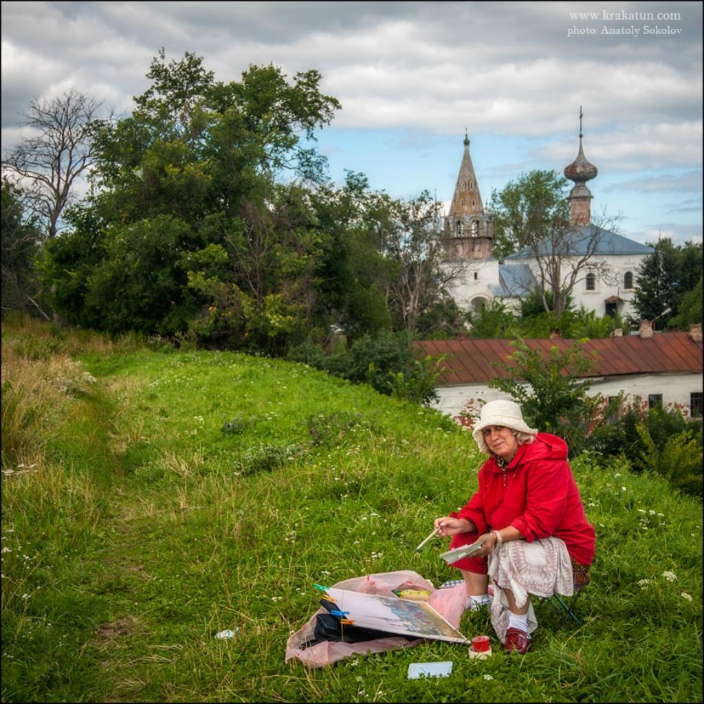 Российские зарисовки: Суздаль, Боголюбово, Владимир