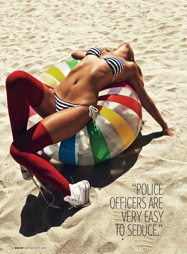 Alexandra Stan / Александра Стан в журнале Maxim US, июль 2012 / фотограф Mark Cant