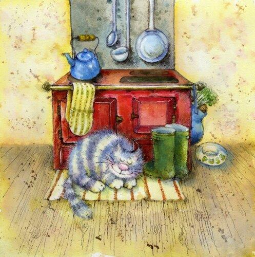 Иллюстрации английского художника-иллюстратора Jan Pashley 60874