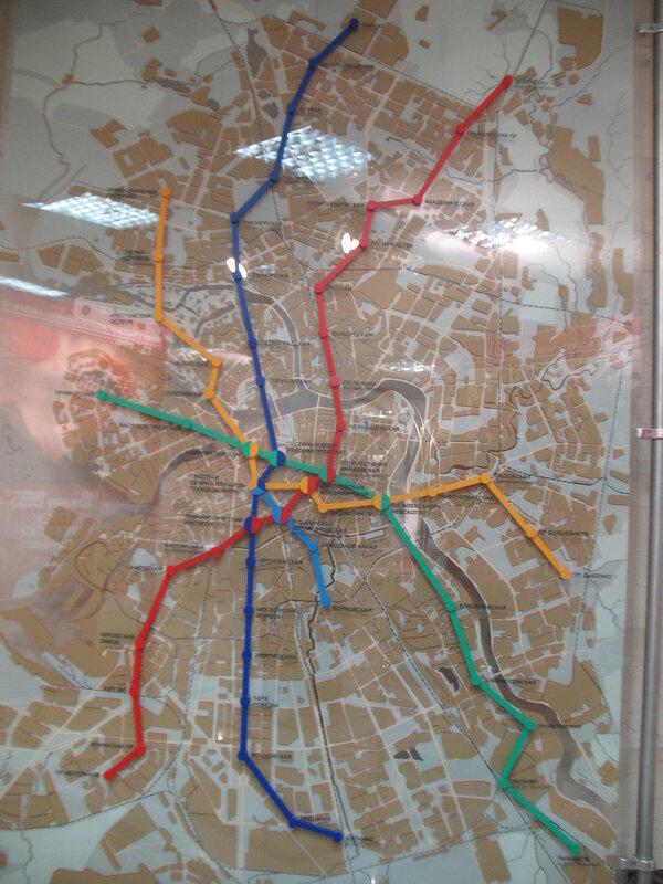 История Питерского метро