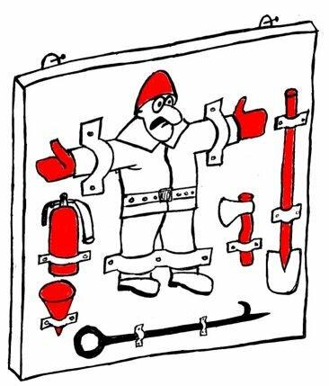 Смешные рисунки о пожаре, леночке днем рождения