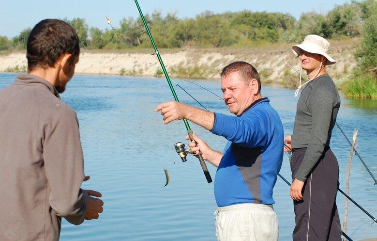 как здравие рыбака