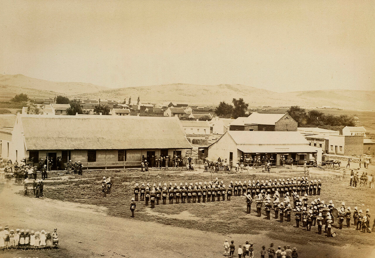 Претория. Полковник сэр Оуэн Лэньон, назначенный исполняющим обязанности лейтенанта-губернатора колонии Трансвааль, вступает в должность в январе 1879