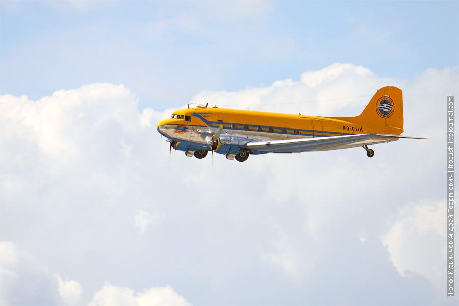 Американский военно-транспортный самолет Douglas C-47 Skytrain. 100 лет ВВС