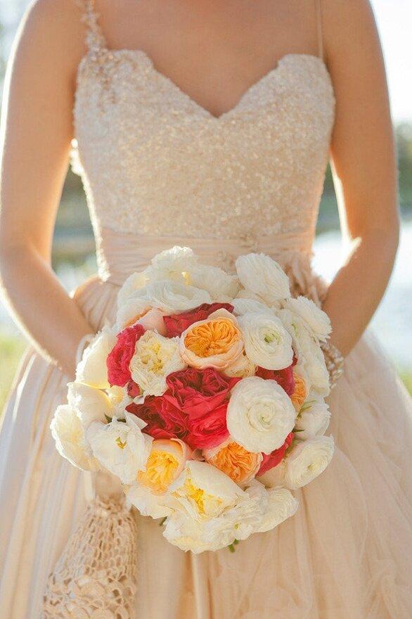 Свадебные букеты для невесты г. коломна, красных