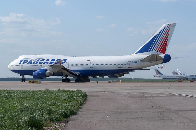 Boeing 747-412 (EI-XLL) Трансаэро DSC_0170