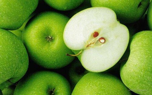 Мандалы в природе... срез яблока