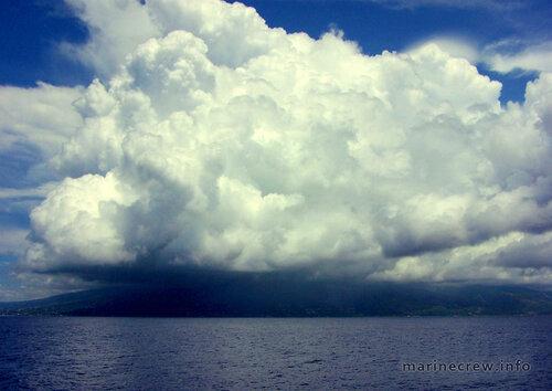 Облака над Таити