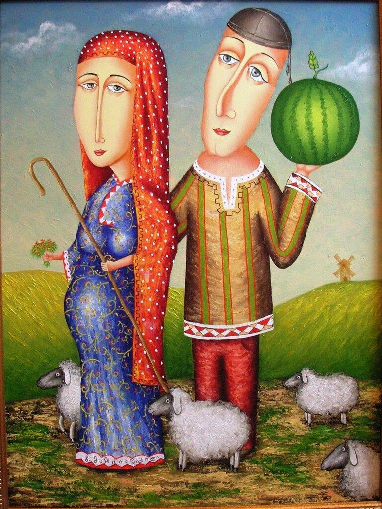 Поздравление, открытки грузинских женщин