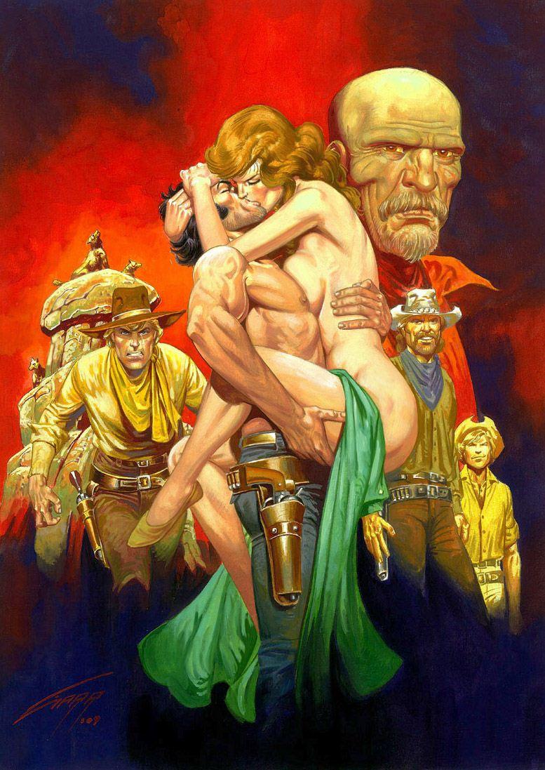 Горячие женщины - Рисунки художника Рафаэля Галлура / Rafael Gallur pictures - Breed of Cursed